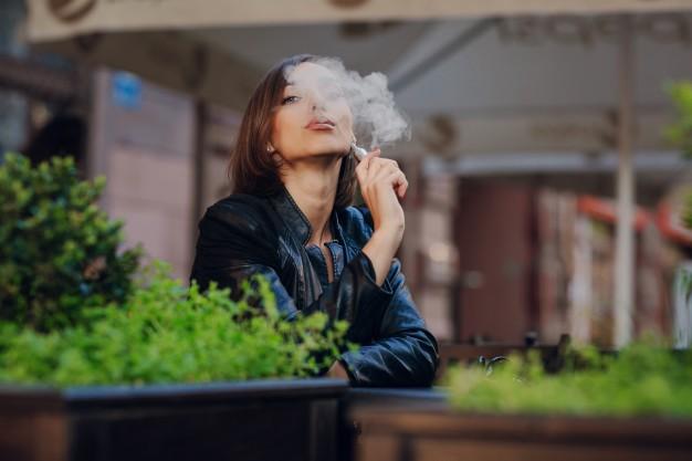 dentes dos fumantes